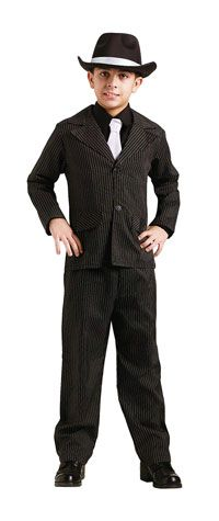 Boys Gangster Costume - Boys Costumes