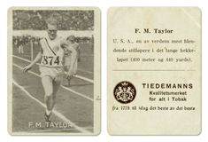 F.,M. Taylor USA 400 m hekk