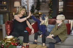 With a baby on the way any day now, maybe Jennifer Nettles was getting the inside scoop from these little ones on what kinds of cookies they think Santa likes left out for him on Christmas Eve the most!