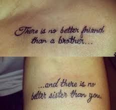 Brother Sister Tattoos 27 Sibling Tattoos Twin Tattoos Brother Sister Tattoo