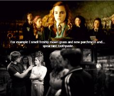A small gesture with significant impact on Hermione.