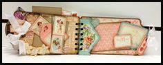Rodriguez Designs: Love Album } Graphic 45 Sweet Sentiments #graphic45 #valentinesday