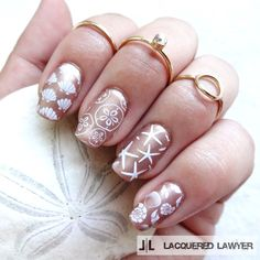 Lacquered Lawyer | Nail Art Blog: Seaside Seashells