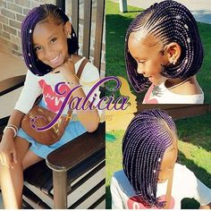 62 Box Braids Hairstyles with Instructions and Images - Hairstyles Trends Box Braids Hairstyles, Lil Girl Hairstyles, Black Kids Hairstyles, Kids Braided Hairstyles, My Hairstyle, Black Hairstyle, Little Girl Box Braids, Black Girl Braids, Braids For Black Hair