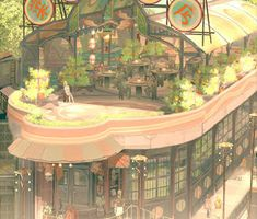 The world (and books): Teikoku shônen - art nouveau punk? Environment Concept Art, Environment Design, Fantasy Places, Fantasy World, Fantasy Landscape, Landscape Art, Art Nouveau, Environmental Art, Fantastic Art