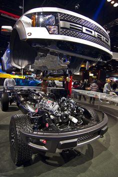 Ford Raptor assembly line