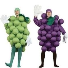 Grape Halloween Costumes for the Whole Family