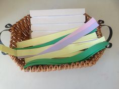 Weaving for young children