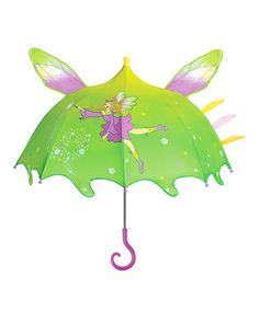 Take a look at this Green Fairy Umbrella by Kidorable on #zulily today!