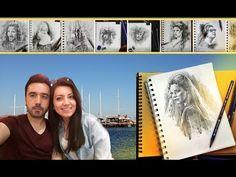 Eskiz Defteri Turu ve Bodrum Tatili Turu VLOG - YouTube Vlog Youtube, Polaroid Film, Drawings, Books, Libros, Book, Sketches, Drawing, Book Illustrations
