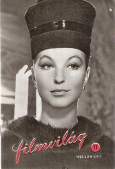 Marina Vlady, Filmvilag Magazine 01 June 1963 Cover Photo - Hungary