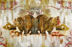 The Mixed Media Art of Hilary White Hilary White was raised in Gainesville, Florida, and later spent a large part of her artistic career in Philadelphia. She received a portfolio scholarship to attend the Savannah College of Art and Design and. Mixed Media Art, Savannah Chat, Moose Art, Gainesville Florida, Level 3, Philadelphia, Artist, Connect, Career