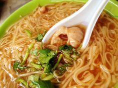 Noodles in Taipei Mian Xian Ah Zhong *photo by afs