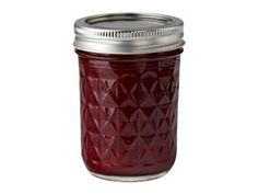 Half Pint (8-oz.) Quilted Crystal Jelly Jars, Set of 12 by Ball® by Ball® at Cooking.com #holidaycooking