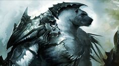 dark creatures | dark fantasy art creatures guild wars 2 volibear kodan 1920x1080 ...