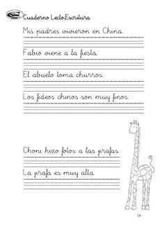 Cuaderno de lectoescritura i (1)(1) Hand Lettering Practice, Maria Jose, Fails, Calligraphy, Light Table, Teacher Stuff, Therapy, Alphabet, Home
