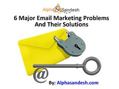 Email problems and solutions