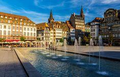 Place Kleber in Strasbourg – Alsace, France