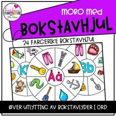 Bokstavhjul Playing Cards, Teaching, Montessori, Ideas, Playing Card Games, Education, Thoughts, Game Cards, Playing Card
