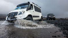 Mercedes-Benz Sprinter – aber anders: Supergeil: Fetter Island Allrad-Sprinter…