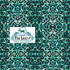 Blue Leopard pattern  printed craft vinyl or heat transfer vinyl (iron on)  6x6, 8.5x11, 12x12, 12x24 12x36-decals by TheLazyIdesigns on Etsy