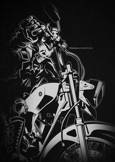 WIDJANA: RX-KING vector