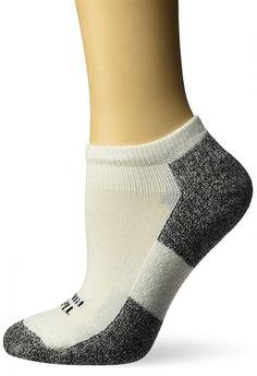 Foot Traffic Chicken Feet Slipper Non Skid Socks Ladies Crew Socks Blue Gold New