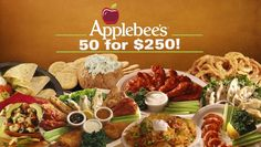 Applebees Introduces New 50 Appetizers For $250 Special | Full report at theonion.com