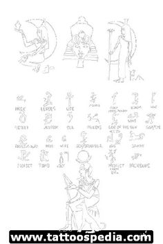 Egyptian Tattoos 8 - http://tattoospedia.com/egyptian-tattoos-8/