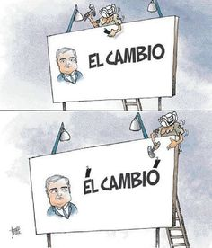 Political Cartoons - A Great Tool To Learn Spanish - Panama Guide Spanish Posters, Spanish Jokes, Ap Spanish, Spanish Lessons, How To Speak Spanish, Learn Spanish, Funny Spanish, Spanish Teaching Resources, Spanish Activities