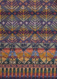 color inspiration for fair isle knitting - Google Search