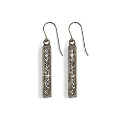 """City Lights Earrings - Eleven exquisite Swarovski crystals form each monolith of dazzling chic. French wires, 2""""L. Made in USA. https://www.morinda.com/3764125/en-us/shop/3795999#product&pid=3796540"""
