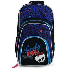 Monster High Freaky Fan Deluxe Backpack
