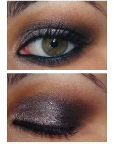 Taupe smokey eye tutorial... Make up for Sonia's wedding?