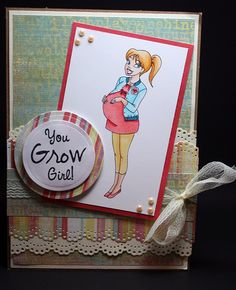 fun pregnancy card