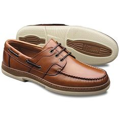 Allen Edmonds Men's Eastport Boat Shoe: The Eastport boat shoe features classic, tailored good looks and rich leather construction. Rawhide lacing, a siped rubber sole, and a full leather lining for real comfort under any conditions. Sock Shoes, Men's Shoes, Shoe Boots, Shoes Sneakers, Casual Shoes, Men Casual, Mens Winter Boots, Allen Edmonds, Tans