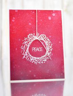 peace, Christmas card