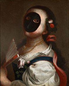 Moretta mask