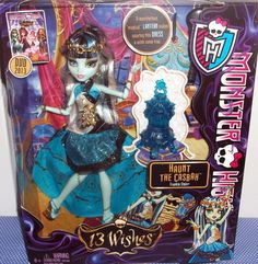 Monster High 13 Wishes Haunt the Casbah Frankie Stein Doll Magical Lantern NEW #Mattel #DollswithClothingAccessories