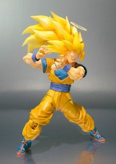 Dragon Ball Z: Super Saiyan 3 Goku SHFiguarts [Action Figure] pela Bandai