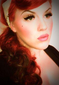 50's rockabilly makeup - Google Search