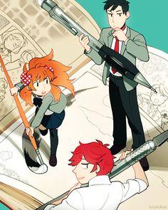 gekkan shoujo nozaki kun - great art, and character developement. Fun to watch but ending was slightly sad.