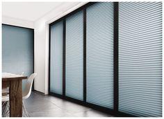Sichtschutz Plissees || pleated blinds