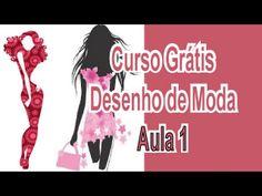 Curso Grátis - Desenho De Moda - Aula 1 - Proporções - YouTube