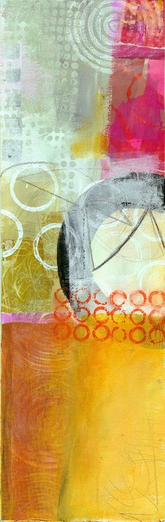 Abstract Art -                                                              Jane Davies collage journeys: More Big Fat Art and a few more Verticals