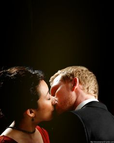 Kevin McKidd and Sandra Oh as Owen & Christina from Grey's Anatomy (2005-present)