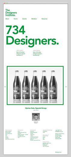Beautiful minimal modern webdesign, Websites We Love — Showcasing The Best in…
