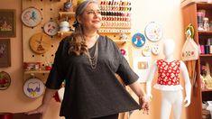 Como hacer UNA BLUSA LINDA, en tallas grandes /trazo, corte y confección paso a paso/L,XL,XXL ,XXXL - YouTube Moda Plus, Tunic Tops, Sewing, Youtube, Sweaters, Women, Fashion, Tela, Sewing Diy