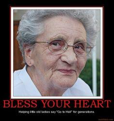 Harris Sisters GirlTalk: Well, bless your heart!