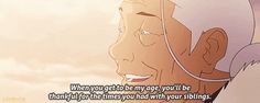Every time Katara spoke in this episode, she made me want to cry. I love the Krew, but I definitely miss the Gaang.